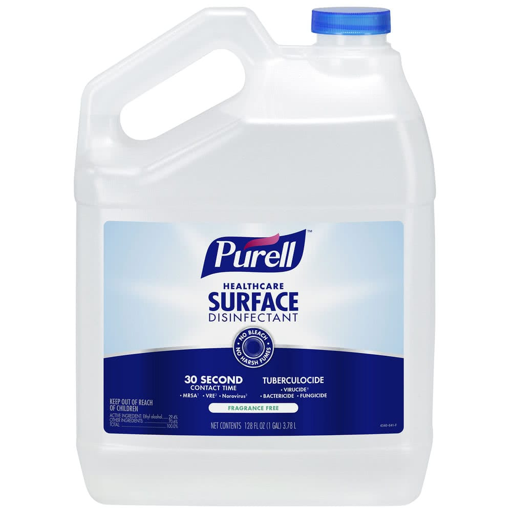 Surface Sanitizers & Disinfectants