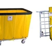 Vinyl Trucks with Antimicrobial Freight Saver